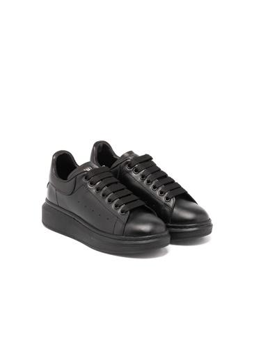 John May John May 0As9W2025884 Deri Bağcıklı Kadın Sneaker Siyah